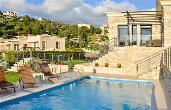 Villa Cerulean in Epirus