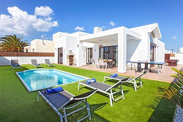 Villa Cindy in Lanzarote
