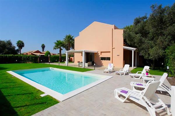 Villa Coralli in Sicily