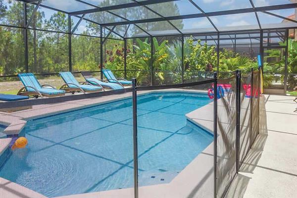 Villa Daffodil, Disney Area and Kissimmee, Orlando - Florida With Swimming Pool