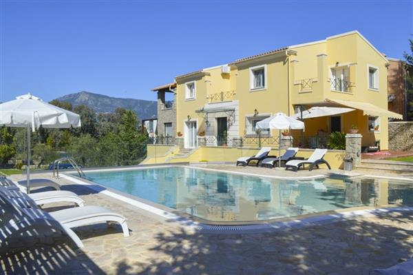 Villa Dassia in Ionian Islands
