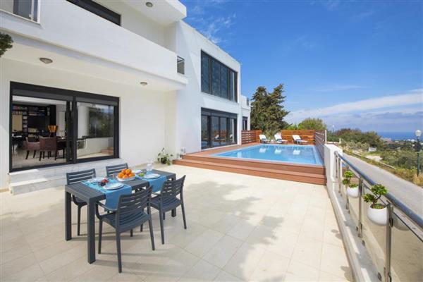 Villa Dimitrios in Southern Aegean