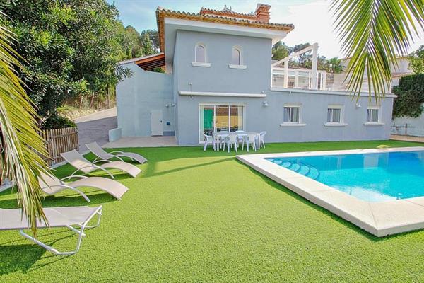 Villa Doble in Calpe, Costa Blanca - Spain