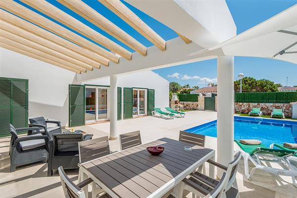 Villa Es Bruc in Menorca