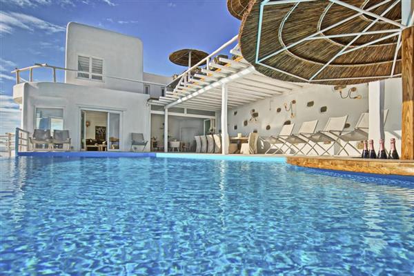 Villa Evinos in Southern Aegean