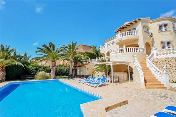 Villa Felipa, Moraira, Costa Blanca With Swimming Pool