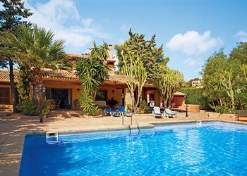 Villa Finca Fustera in Spain