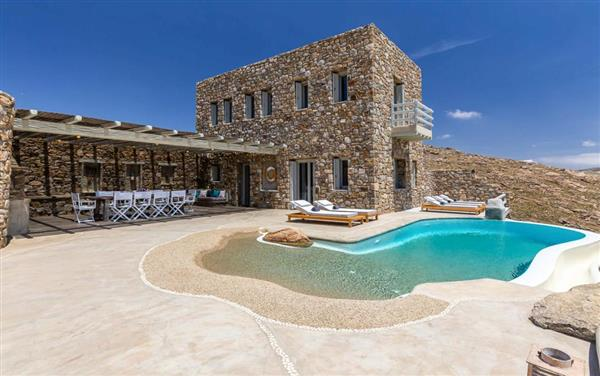 Villa Fotis in Southern Aegean