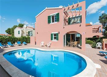 Villa Galdana Fuschia in Menorca