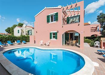 Villa Galdana Rosa in Menorca