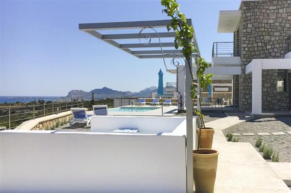 Villa Georgiou in Southern Aegean