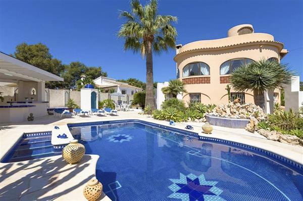 Villa Hisa el Beni in Alicante