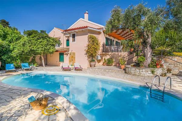 Villa Hortensia in Paxos
