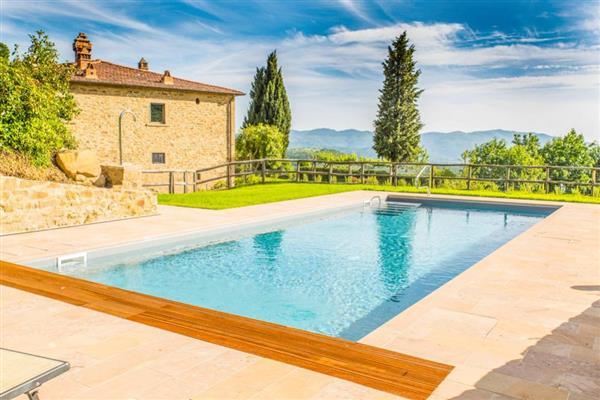 Villa I Gigli in Provincia di Arezzo
