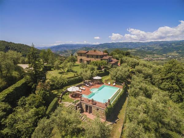 Villa I Grilli in Provincia di Pistoia