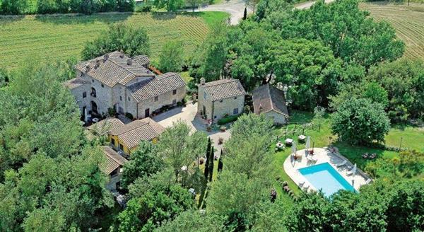 Villa Il Gufo in Provincia di Arezzo