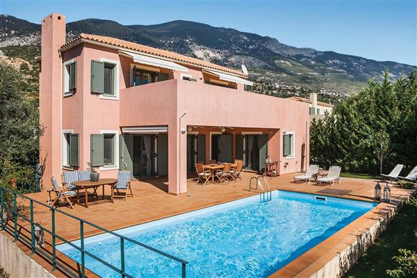 Villa Ionian Rose from James Villas