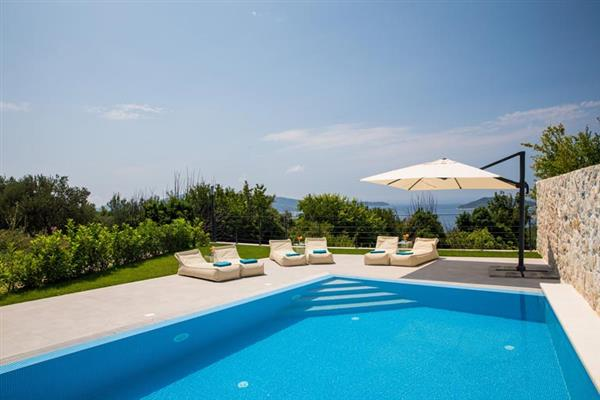 Villa Island View in Croatia