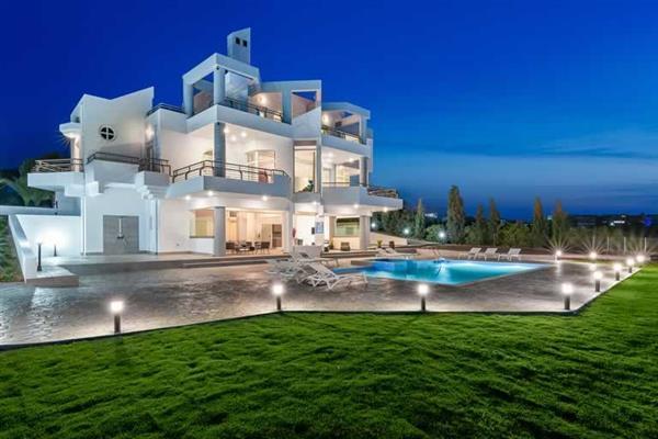 Villa Ixia Sea View, Rhodes Town, Rhodes