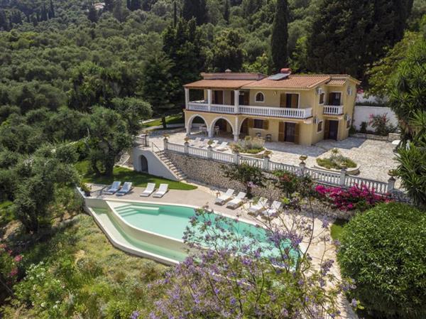 Villa Jacaranda Blue in Ionian Islands