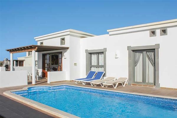 Villa Jacaranda in Lanzarote