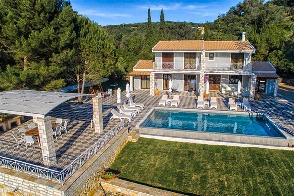 Villa Jupiter in Corfu