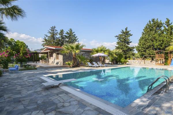 Villa Kalyptos in Southern Aegean