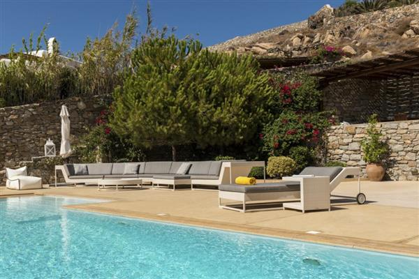 Villa Kappa in Southern Aegean