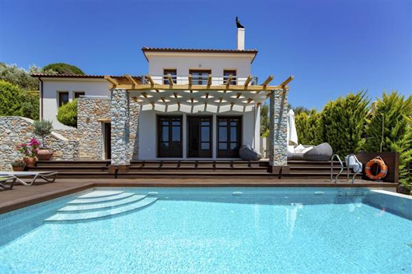 Villa Kolios Bay in Thessalia