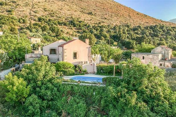Villa Kourkoulis in Crete