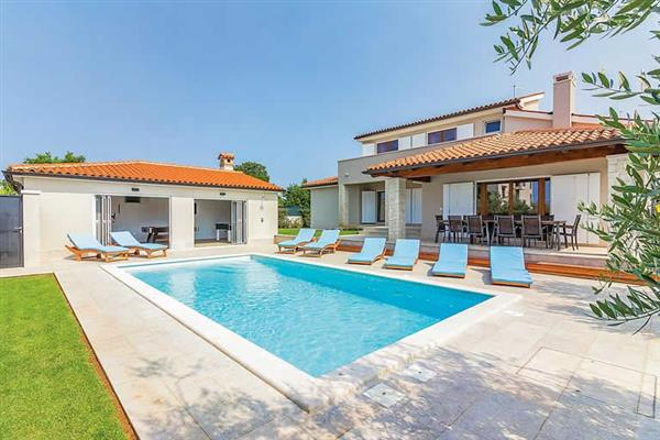 Villa Lana in Croatia