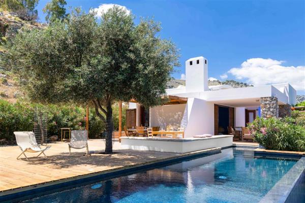 Villa Lartos in Southern Aegean