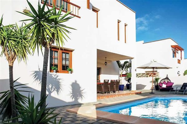 Villa Las Caletas in Lanzarote