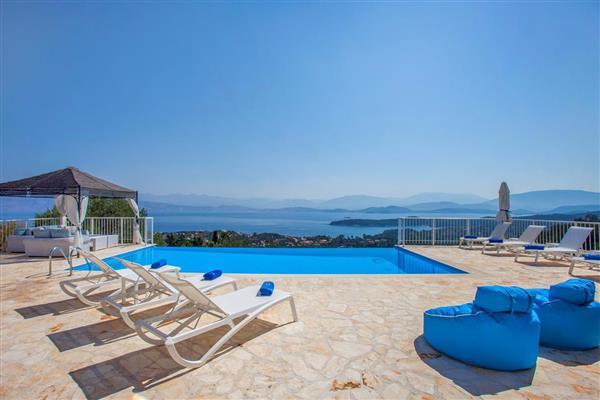 Villa Las, Corfu, Greece