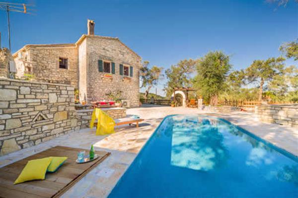 Villa Lenio in Magazia, Paxos