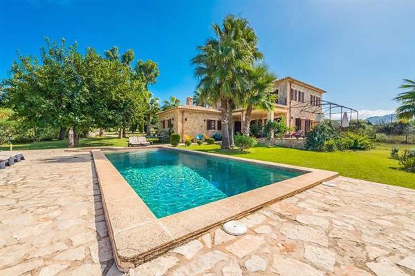 Villa Les Roques de ca'n Guixe in Mallorca