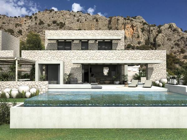 Villa Lithos in Southern Aegean