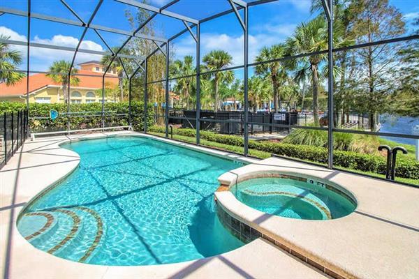Villa Madeira Beach, Terra Verde, Orlando - Florida With Swimming Pool