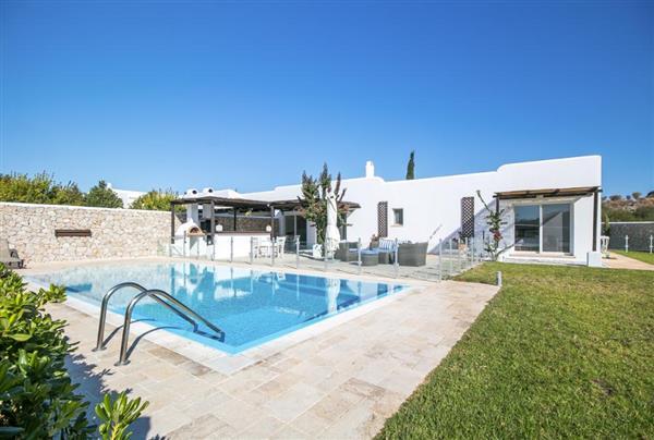 Villa Malagouzia in Southern Aegean