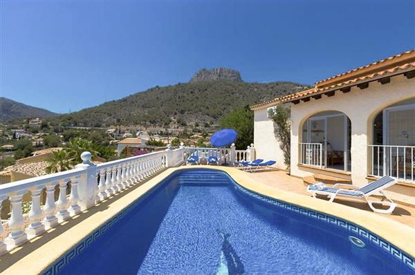 Villa Marina Alta in Alicante