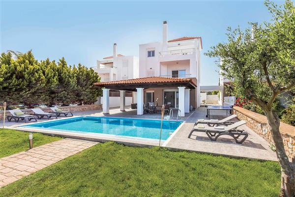 Villa Mediterranean Blue ( Lindos) from James Villas
