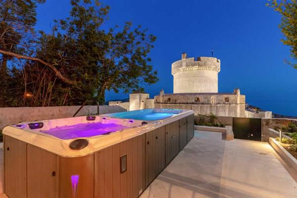 Villa Minceta Fortress View in Croatia
