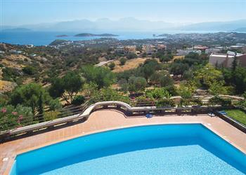 Villa Mirabello Bay View in Crete