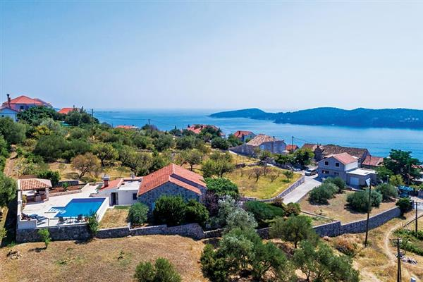 Villa Mirno in Croatia