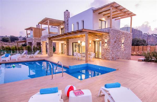Villa Mitsis in Southern Aegean