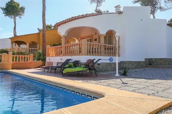 Villa Monte Verde Rosa in Spain