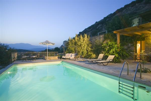 Villa Omega in Crete