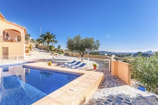 Villa Osalba in Alicante