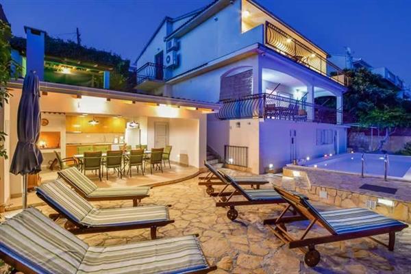 Villa Paradise Blue in Croatia