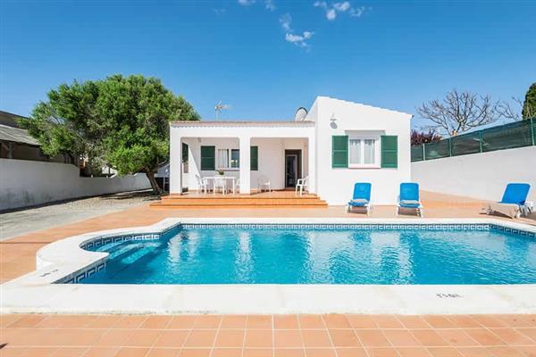 Villa Patri, Cala en Porter, Menorca With Swimming Pool